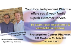 Prescription Center Pharmacy - Oconomowoc, WI