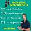 Water Heater Repair Webster TX