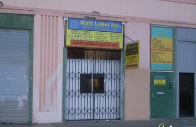 Matt Labels Inc - Los Angeles, CA