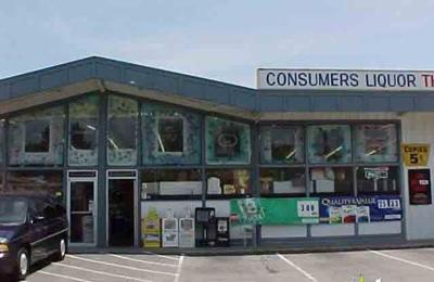 Consumers Liquors A Discount Leader - San Mateo, CA