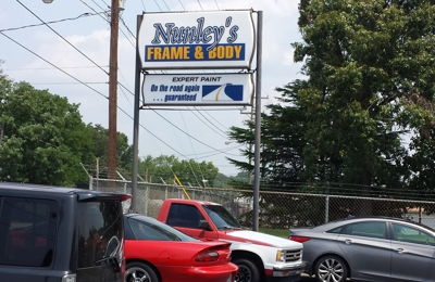 Nunley's Frame And Body 2215 S Elm Eugene St, Greensboro, NC