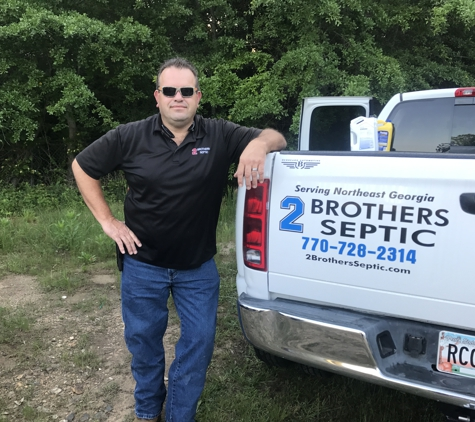 2 Brothers Septic - Winder, GA. 2 Brothers Septic owner at a job in Gainesville, GA.