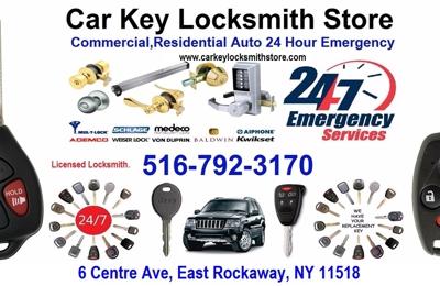 Car Key Locksmith Store - East Rockaway, NY