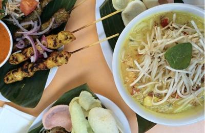 Singapore's Banana Leaf - Los Angeles, CA. Amazing food