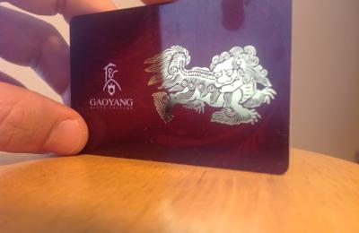 LA Plastic Card Printing - Los Angeles, CA. Amazing gold foil effect...