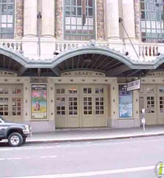 Geary Theater - San Francisco, CA