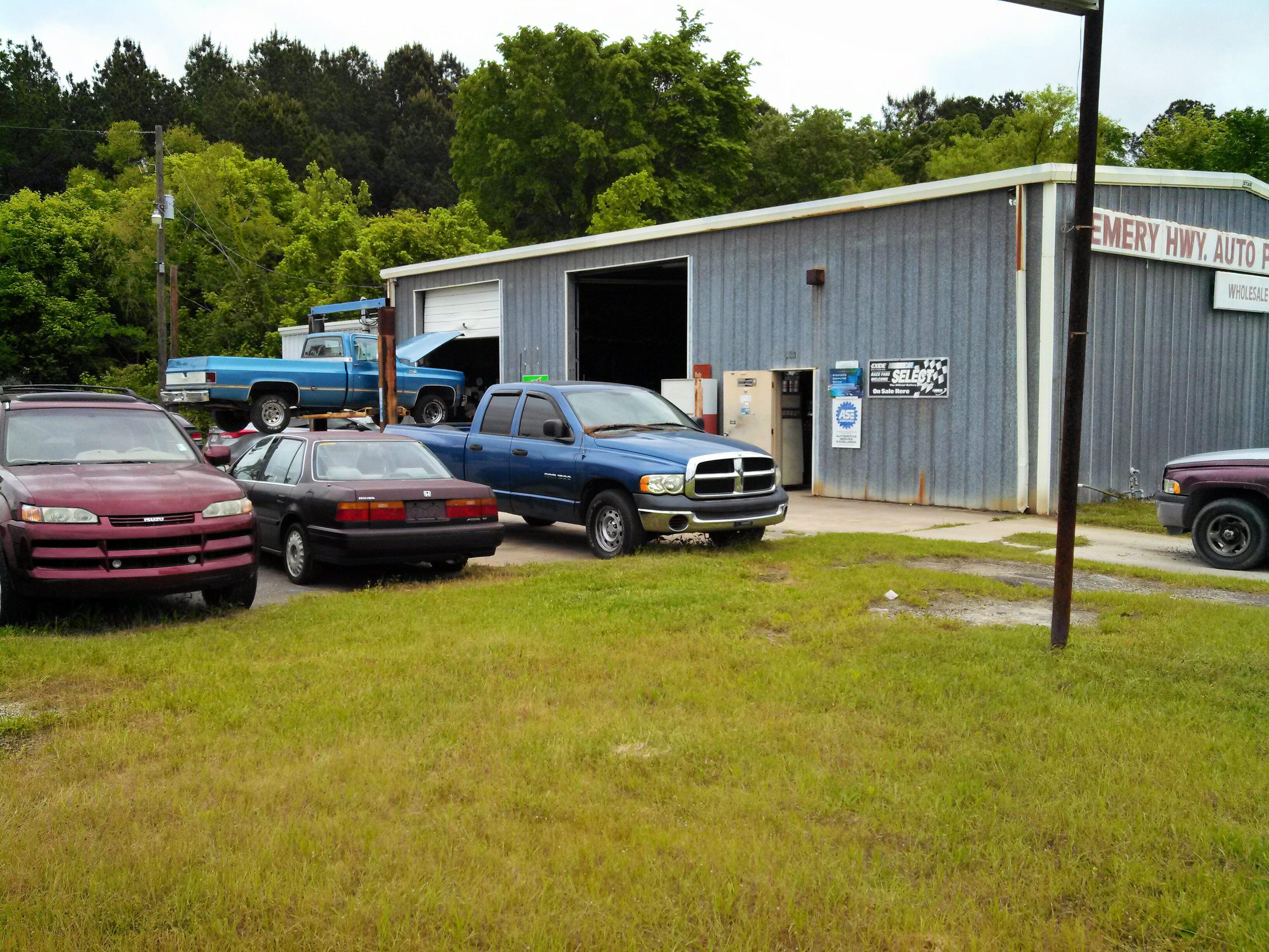 Emery Hwy Auto Parts & Service 523 merce Dr Macon GA YP