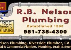 Nelson R B Plumbing - Riverside, CA