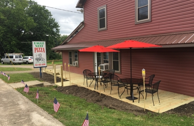Eagle Nest Pizza - Linesville, PA. The new outside look of Eagle Nest Pizza. They did an amazing job