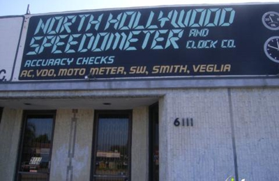North Hollywood Speedometer & Clock Co. - North Hollywood, CA
