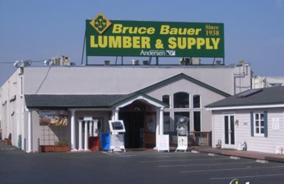 Bruce Bauer Lumber & Supply - Mountain View, CA