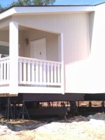 setting up a new manufactured home