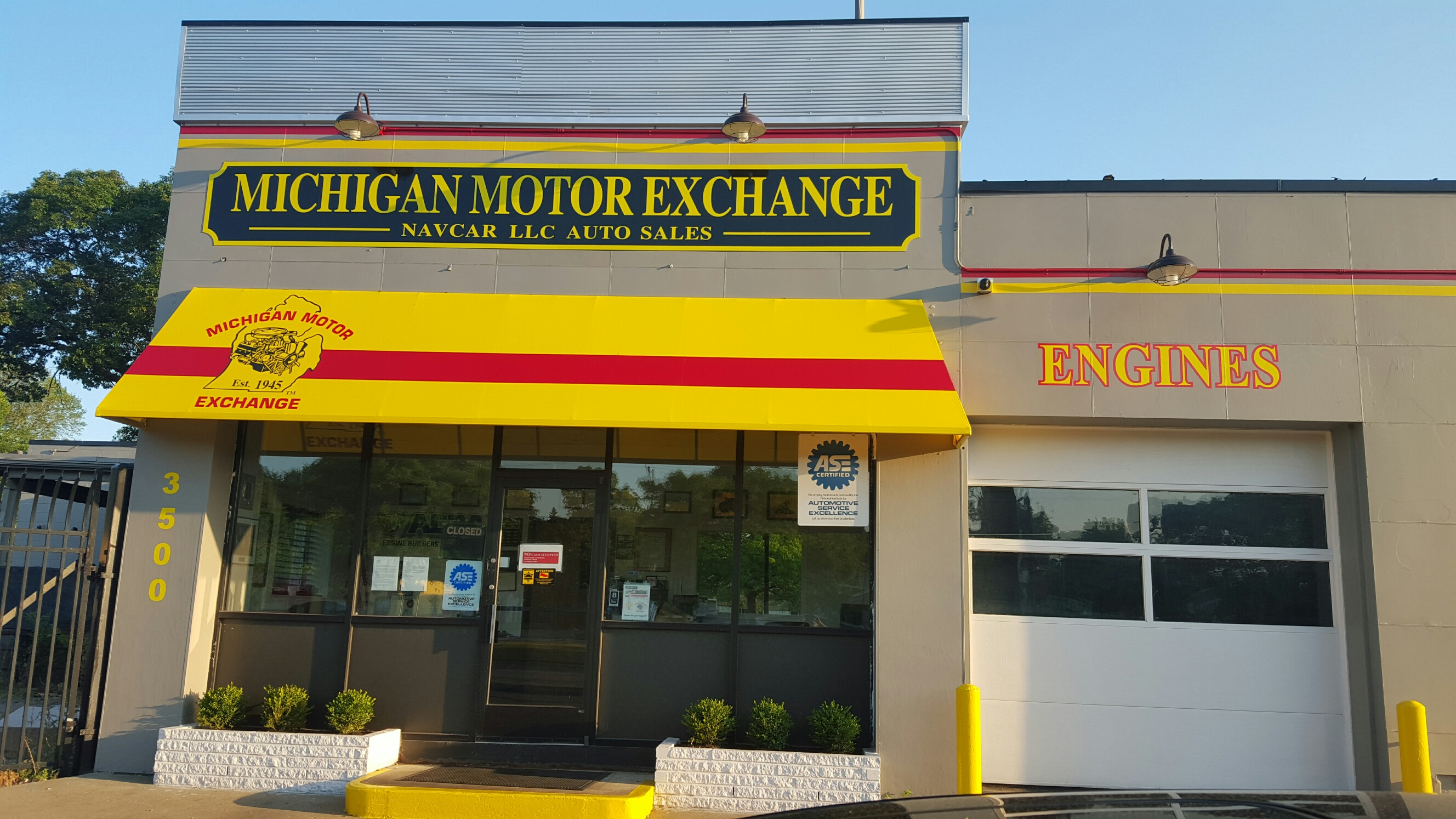 Michigan Motor Exchange 3500 E 8 Mile Rd Detroit Mi