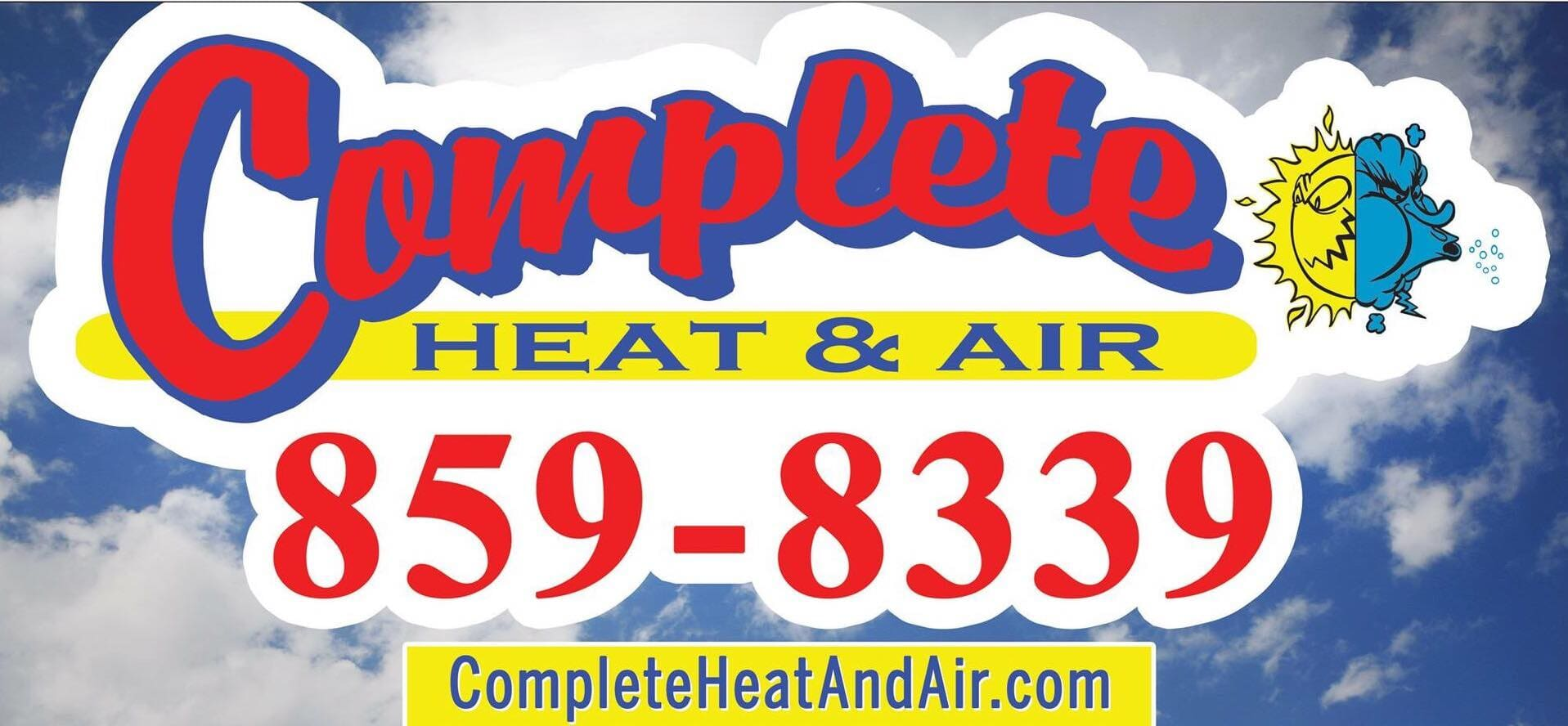 Complete Heat Amp Air 121 Pinewood Dr Easley Sc 29640 Yp Com