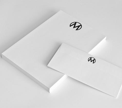 Amberd Design Studio - Los Angeles, CA. The Mellbe Stationery Design