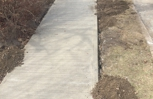 Sidewalk replacement spring 2015