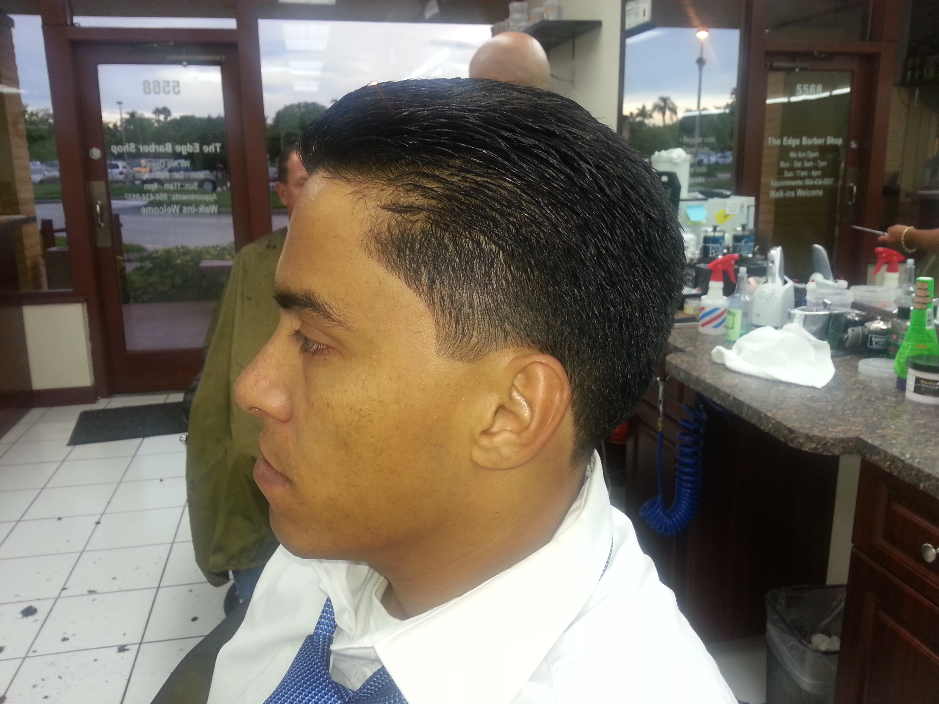 Edge Barber Shop 5568 S Flamingo Rd Cooper City Fl 33330 Yp