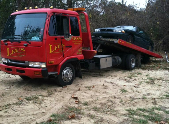 LEES TOWING & RECOVERY INC