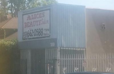 Alice's Beauty Salon - Los Angeles, CA. Beauty salon at virgil ave