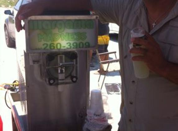 Xtreme Margaritas - San Antonio, TX. Enjoying a margarita on the beach!