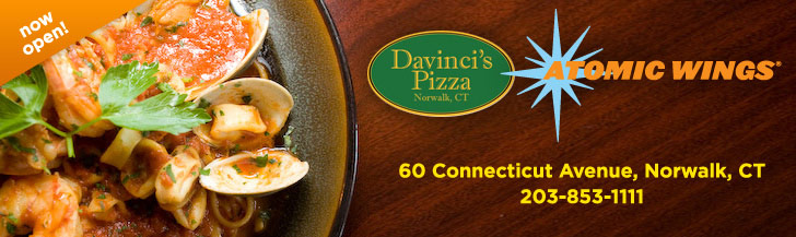 Davinci's Pizza, Norwalk CT