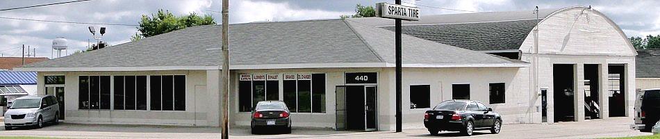 Sparta Tire & Automotive Service, Sparta MI