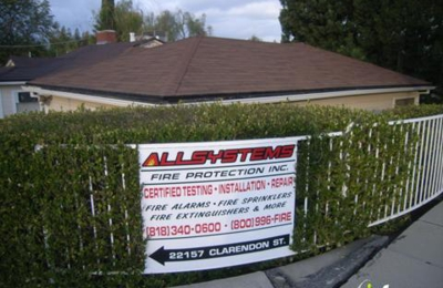 All Systems Fire Protection - Woodland Hills, CA