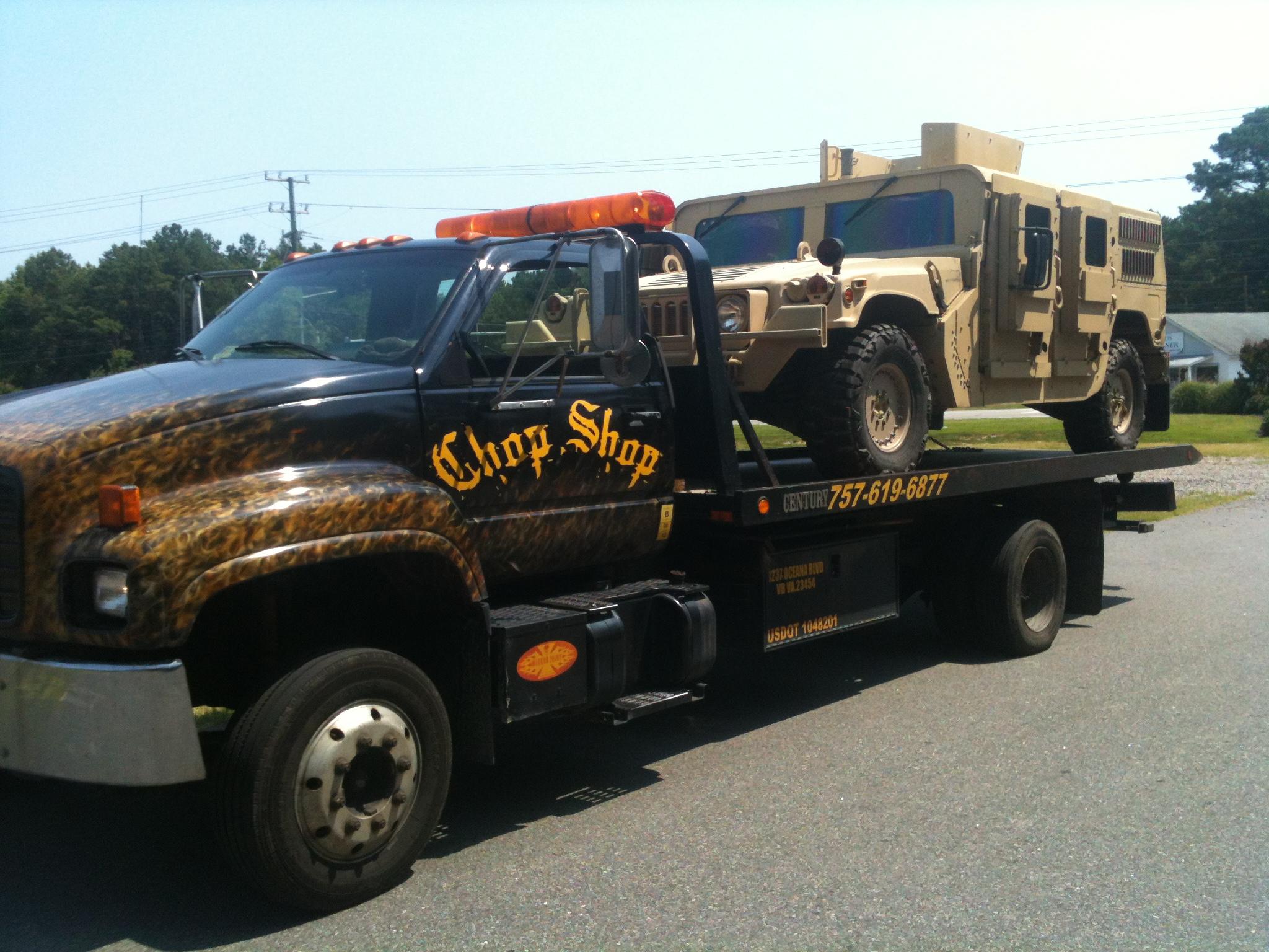 Chop Shop Towing & Storage 1237 Oceana Blvd, Virginia Beach, VA ...