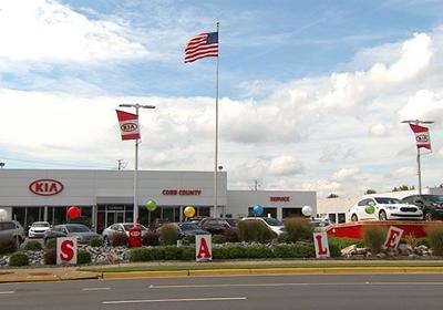 Cobb County Kia 1221 Auto Park Dr NW, Kennesaw, GA 30144