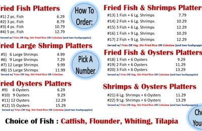 Atlantic Seafood Restaurant - Columbia, SC