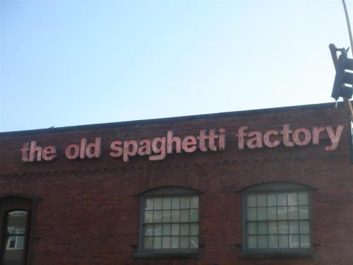 The Old Spaghetti Factory, Spokane WA
