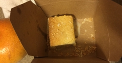 JCT Kitchen & Bar - Atlanta, GA. To-go dessert.  $7.  Tiny serving for that price, right?