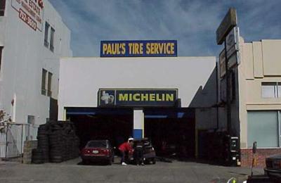 Paul's Battery & Tire Service - San Francisco, CA