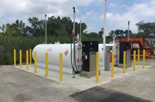 Above Ground Storage Tank Install