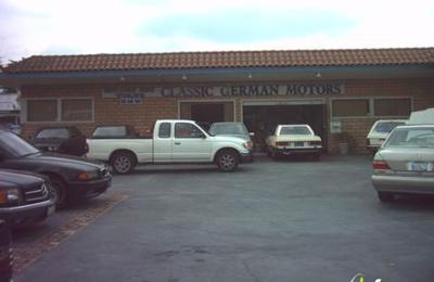 Classic German Motors - Pasadena, CA