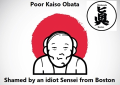 Shinkendo Boston - Boston, MA. Poor Kaiso Obata