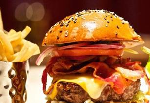 Burger at Burger and Lobster
