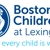 Boston Children's At Lexington