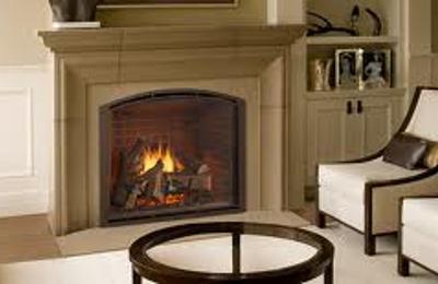 Ambler Fireplace Patio Colmar