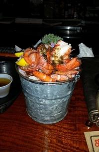 Steamed Seafood Platter at Spondivits in Atlanta, GA