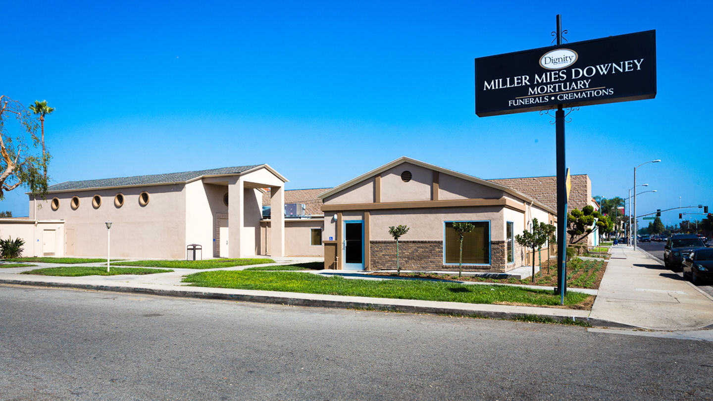 Miller Mies Downey Mortuary 10229 Paramount Blvd Downey