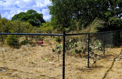 Shelton's Outback Fence - New Braunfels, TX