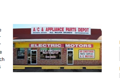 A C Appliance Parts Depot 11628 Us Highway 19 Port Richey Fl 34668 Yp Com