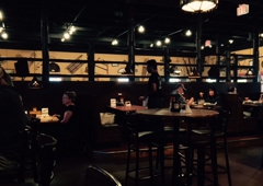 Montana Mike's - Anderson, IN. WELL lit dining areas OR romantic lounge & bar seating.