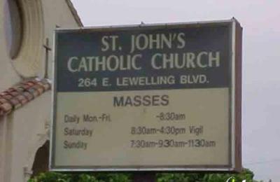 St John's Catholic Church - San Lorenzo, CA