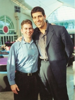 Tony Robbins & I  at Robbins Christmas Party