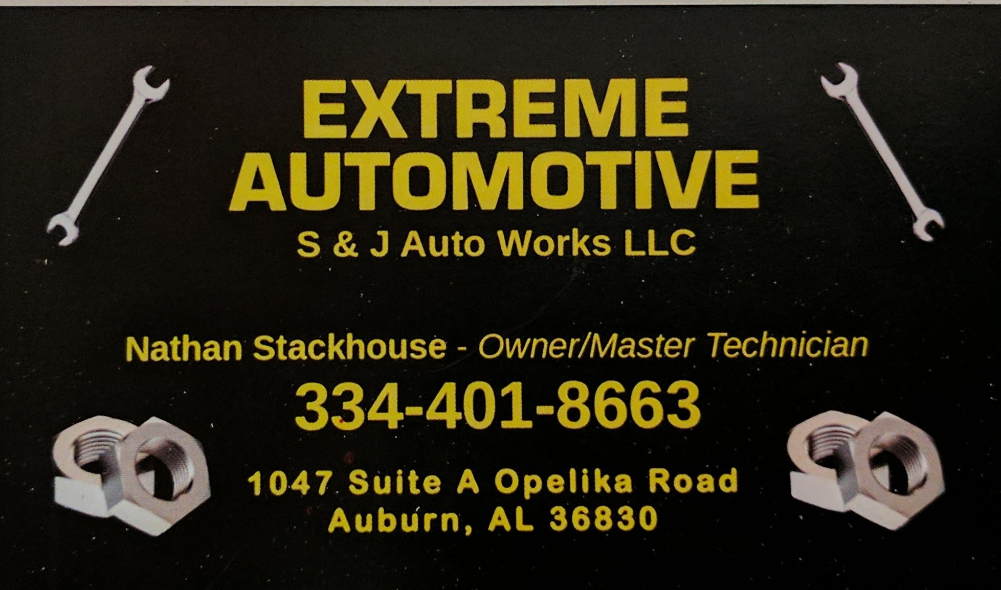 Extreme Automotive S&S Auto Works L L C 1047 Opelika Rd Suite A