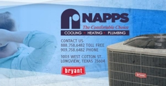 Napps Cooling, Heating & Plumbing - Longview, TX