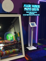 Mirror Photo Booth. Kids birthday party place