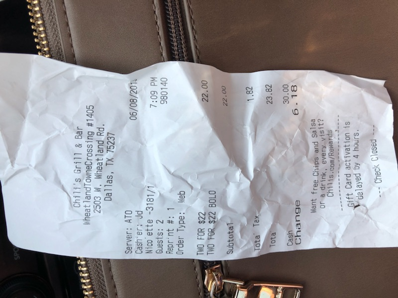Chili's Grill & Bar 2503 W Wheatland Rd, Dallas, TX 75237